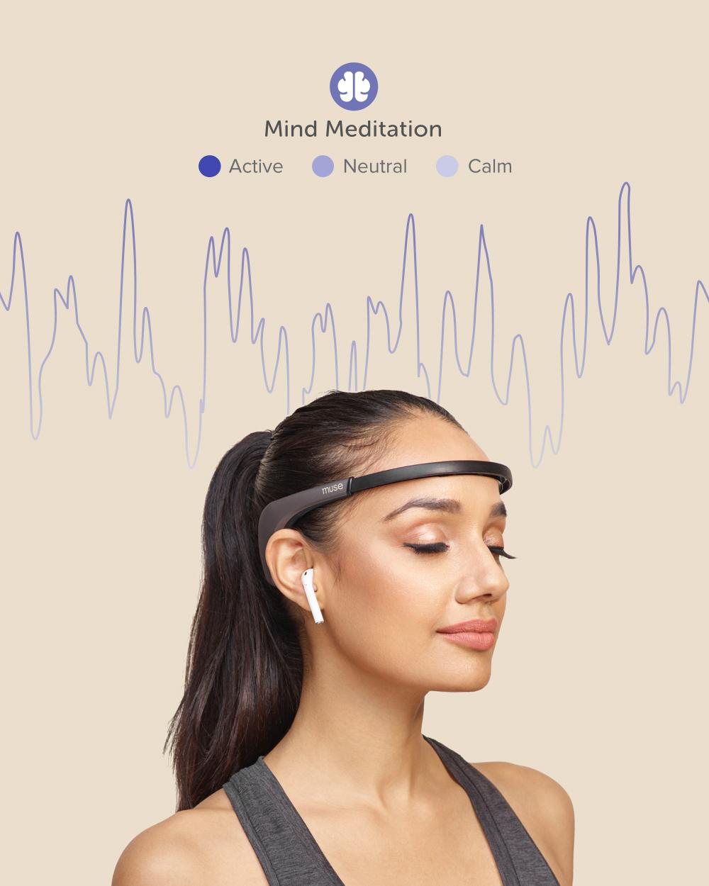 Muse 2 - Brain and Body Sensing Headband. Save 15% at Vital Mind Body.