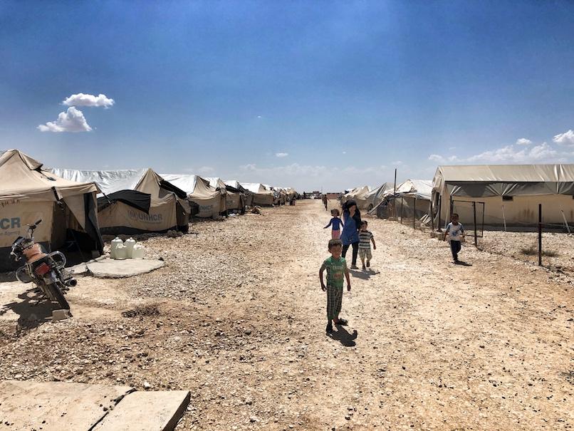 IDP Camp Manbij