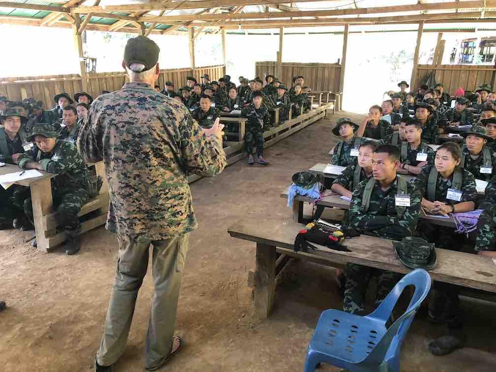 Teaching a New Ranger Class