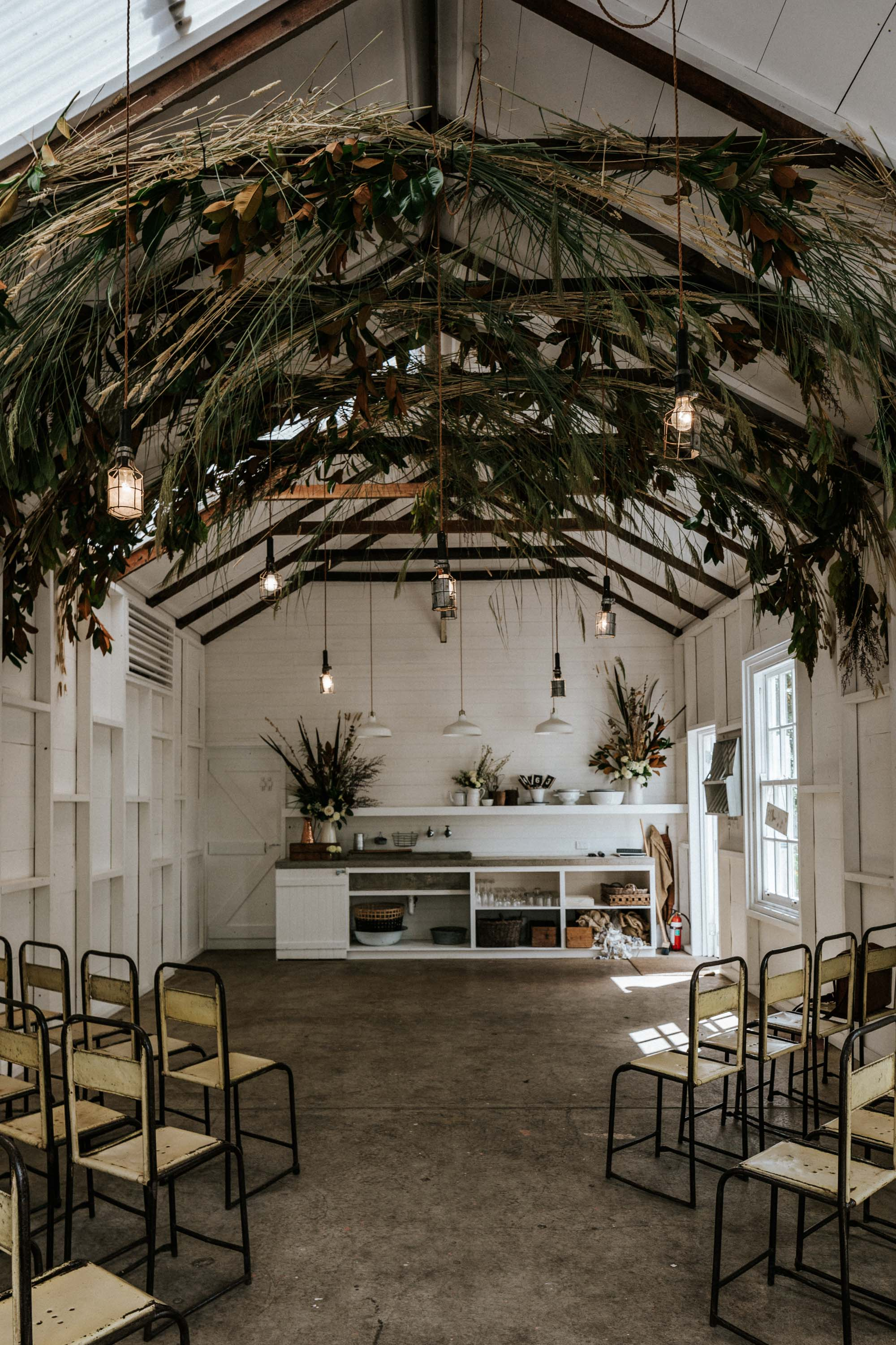 The Estate Trentham   Lynda Gardener has transformed this beautiful old farmhouse to a place of wedding dreams. A barn sits alongside the house perfect for small gatherings and weddings overlooking the veggie gardens and mini orchard.  View Website