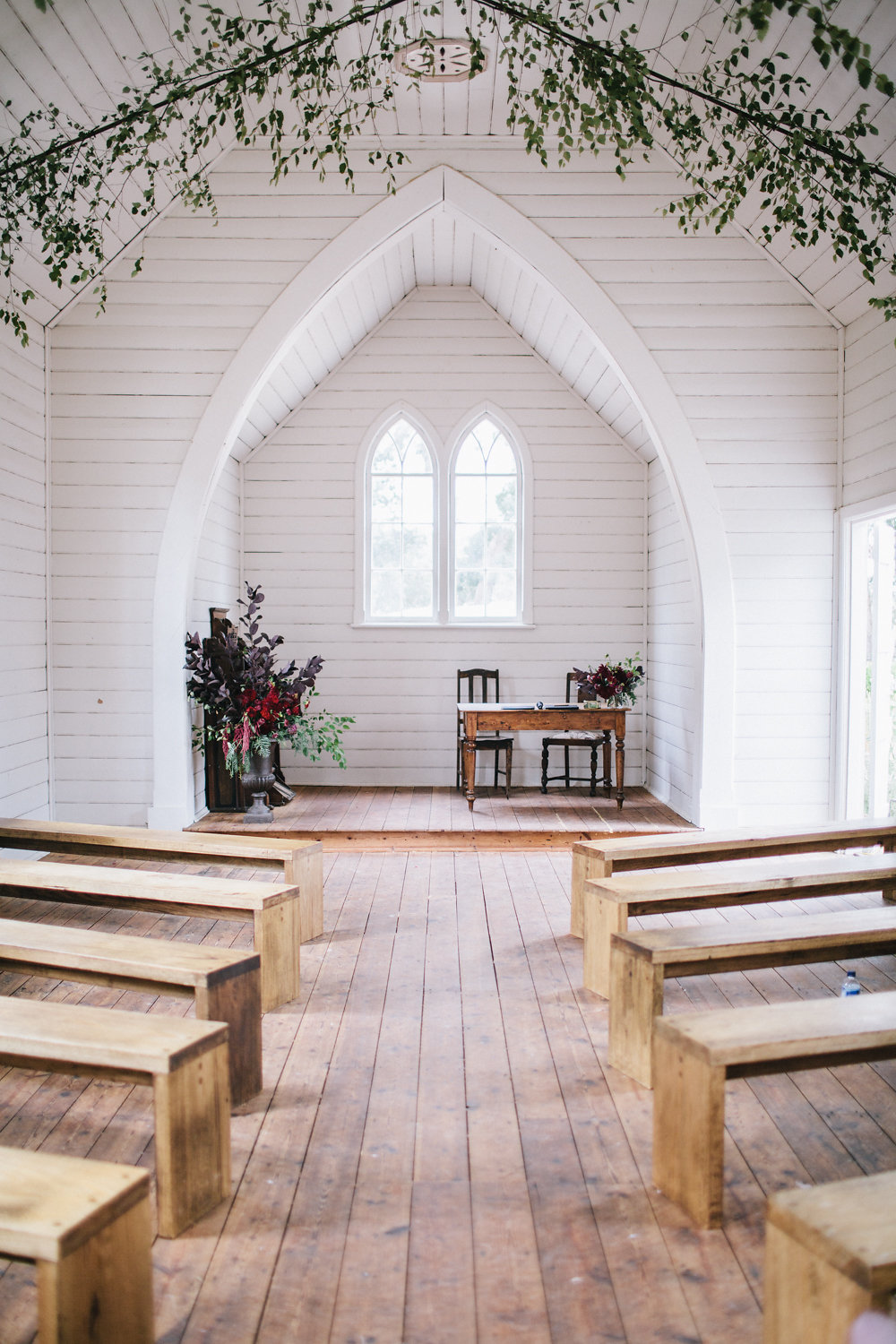 Florist Daylesford Wedding Event Little Church Springhill Country Wedding Flowers Styling