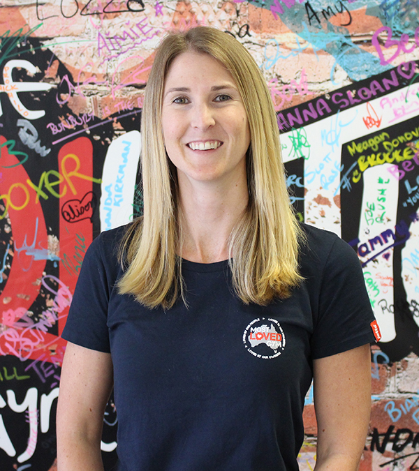 Amanda McSpadden, People and Culture Manager, Jetts Fitness