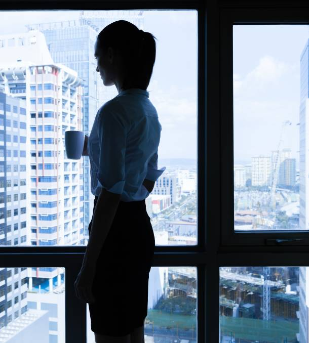 Lonely at the top: A new study cites the impact of loneliness at work.