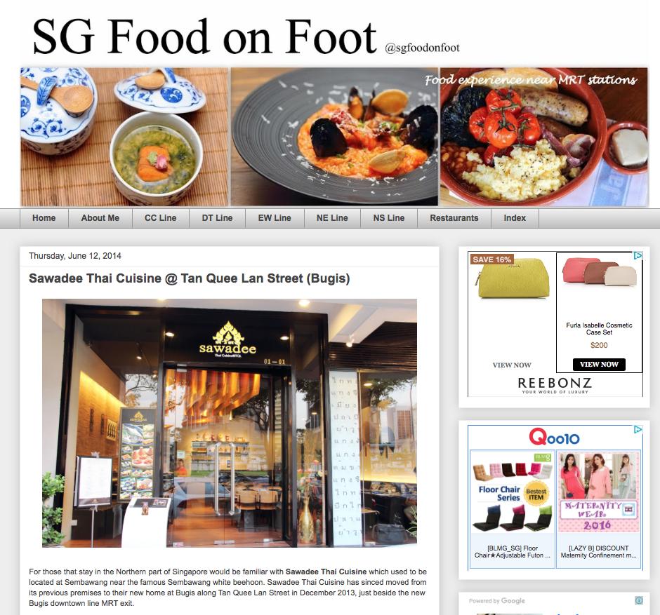 SG Food on Foot, 12 June 2014