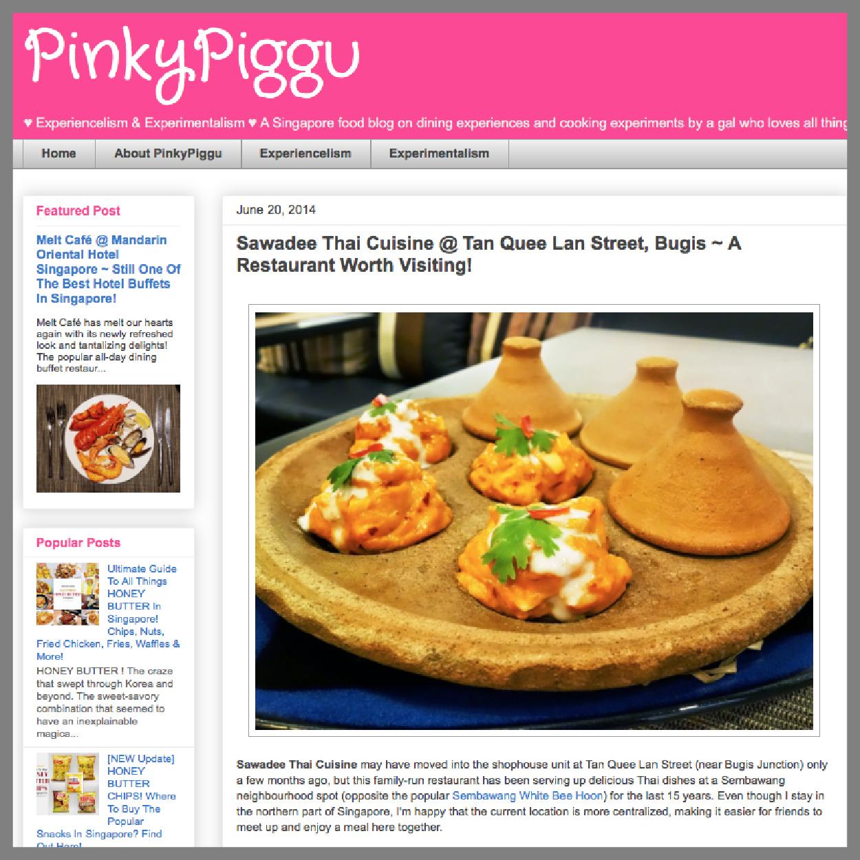 Pinky Piggu, 20 June 2014