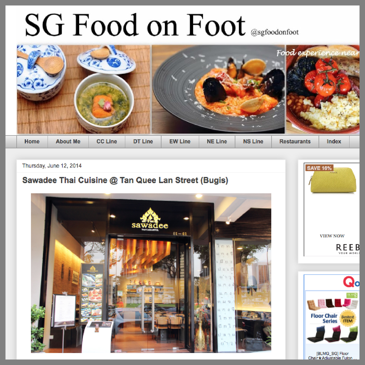 SG Food on Foot, 12 June 2014