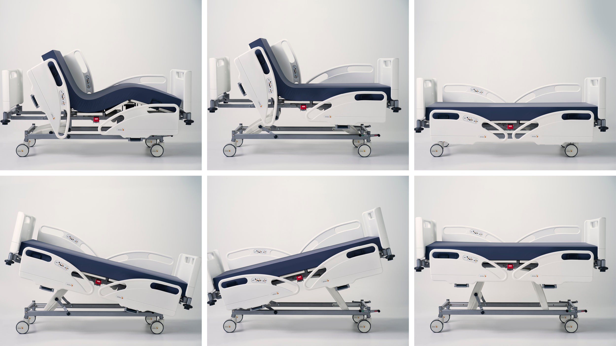ward bed collage