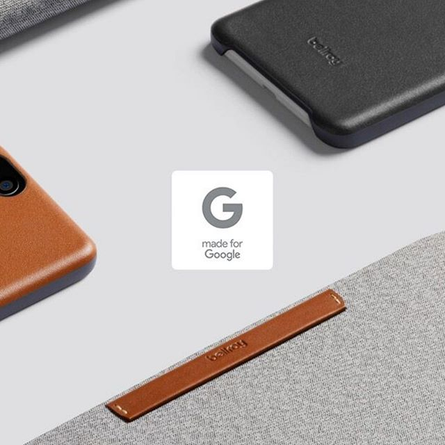 Extremely proud of our collaboration with @bellroy on their gorgeous Made for Google phone cases.