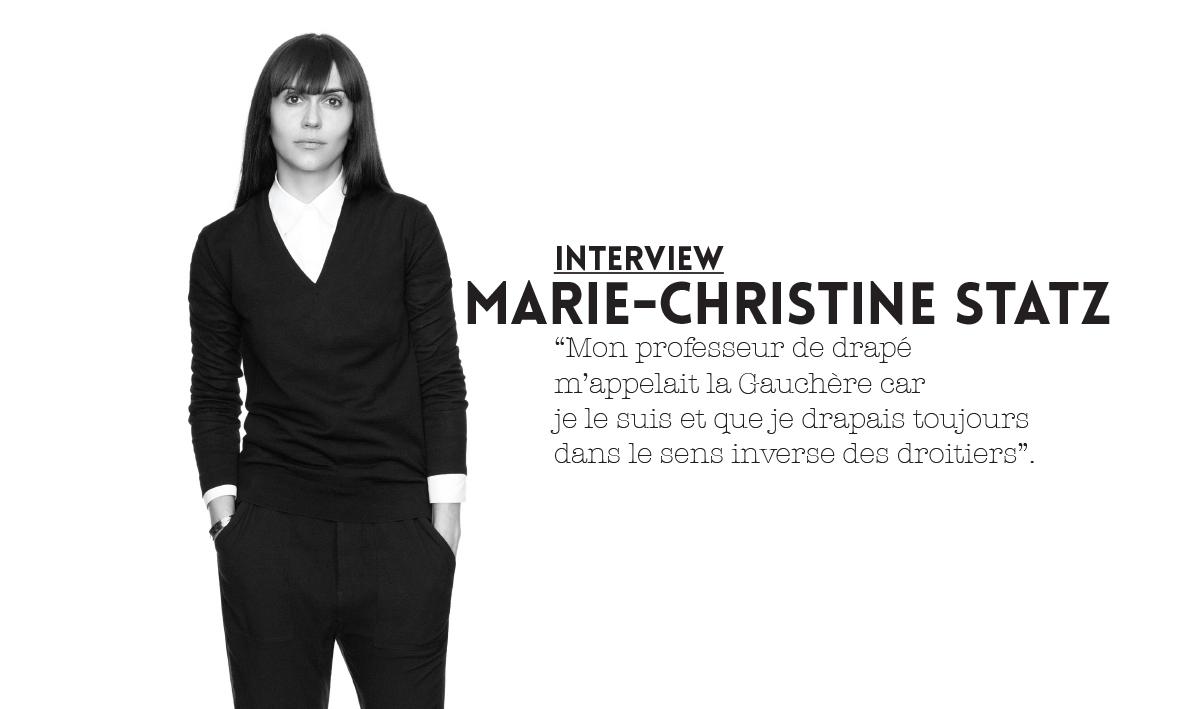 gauchère, droite, gauche,interview Gauchère interview marie-christine Statz, savoir-faire, artisanal, technique