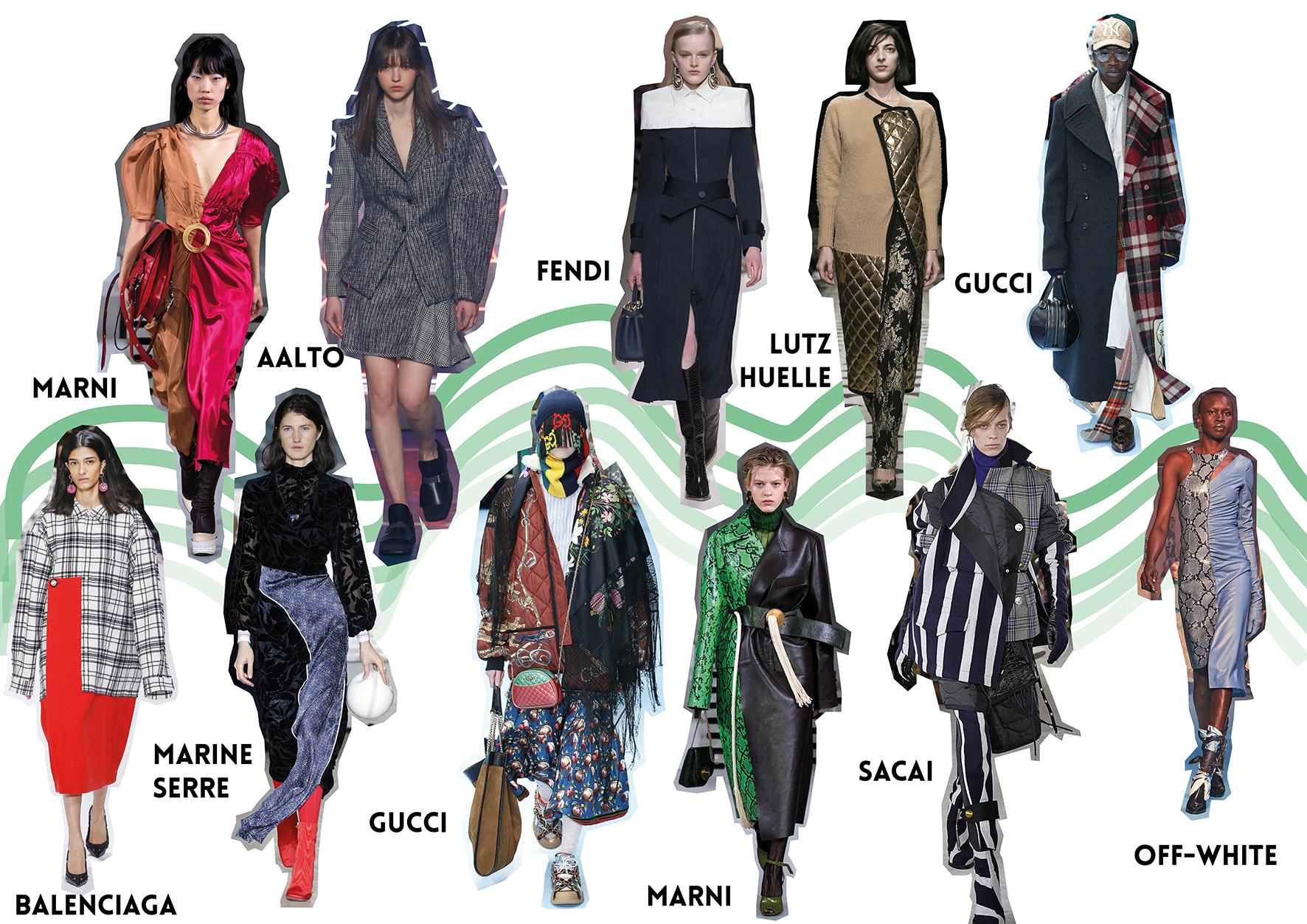 Fashion week hiver 18/19 défilé hiver winter 18/19 fendi aalto marni