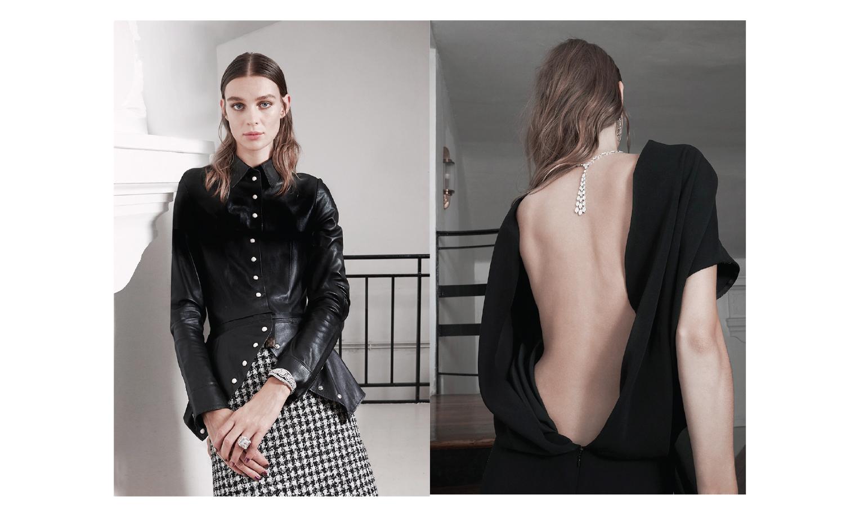 Bague Djula-Chemise Louis Vuitton- robe Poiret-bijoux David Morris