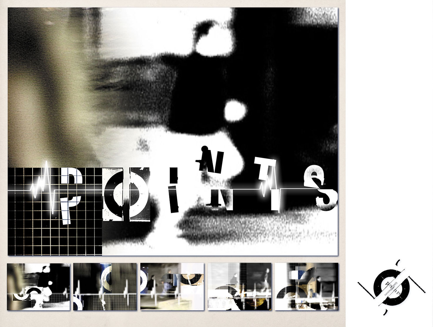 'Turning Points' Typographic Sequential Storyboard 3