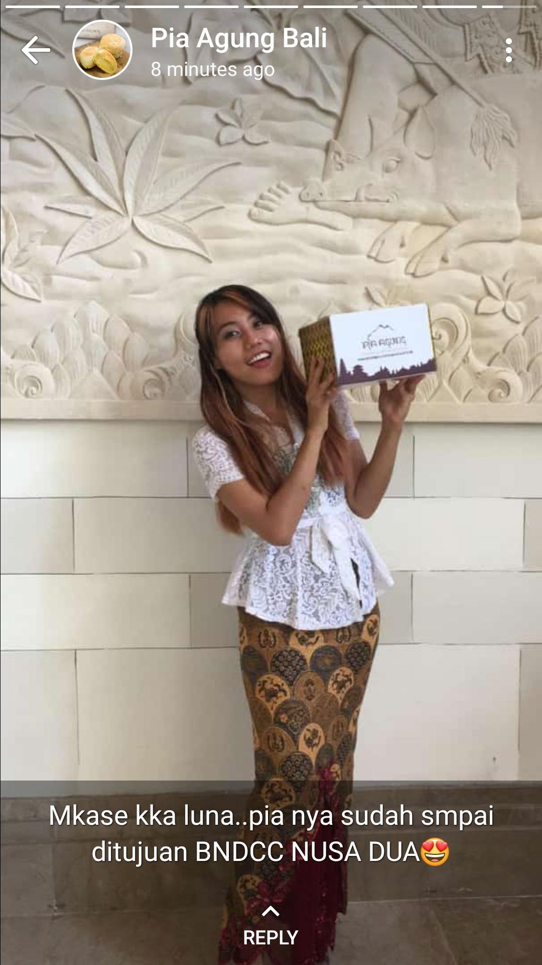 Pia enak Bali Gratis Delivery