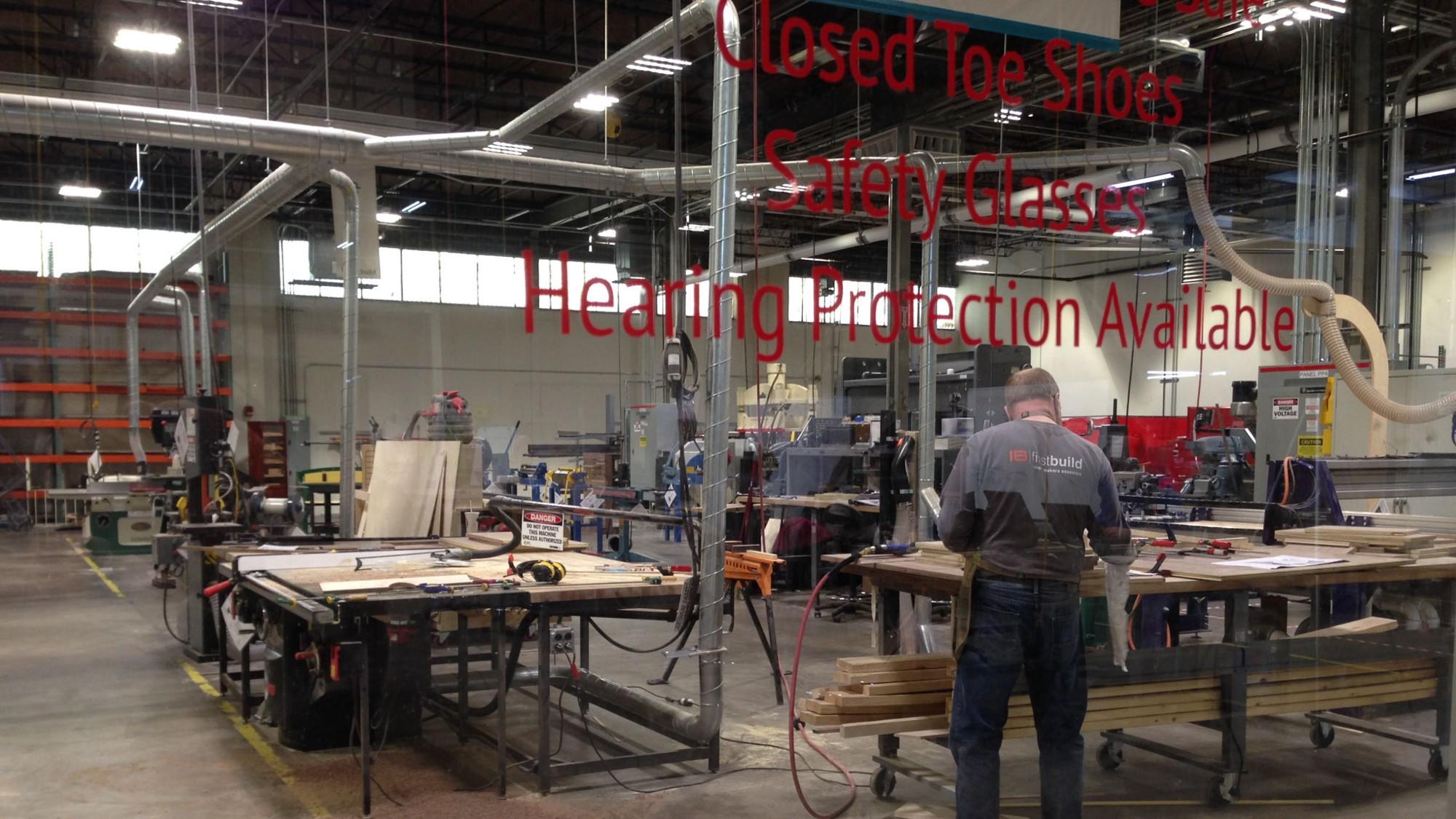 First Build's shop floor in Louisville, KY.