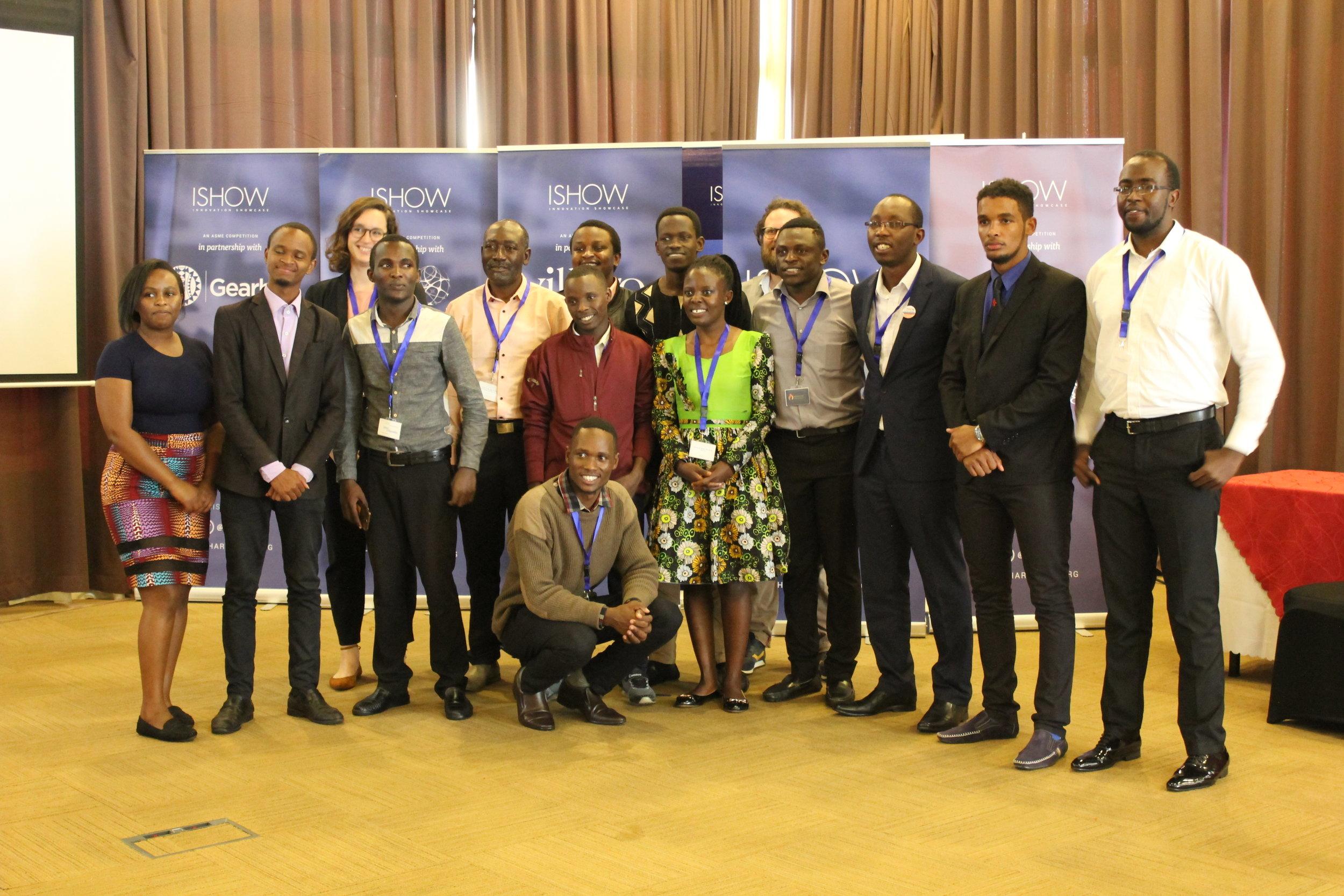 ISHOW 2018 finalists in Nairobi