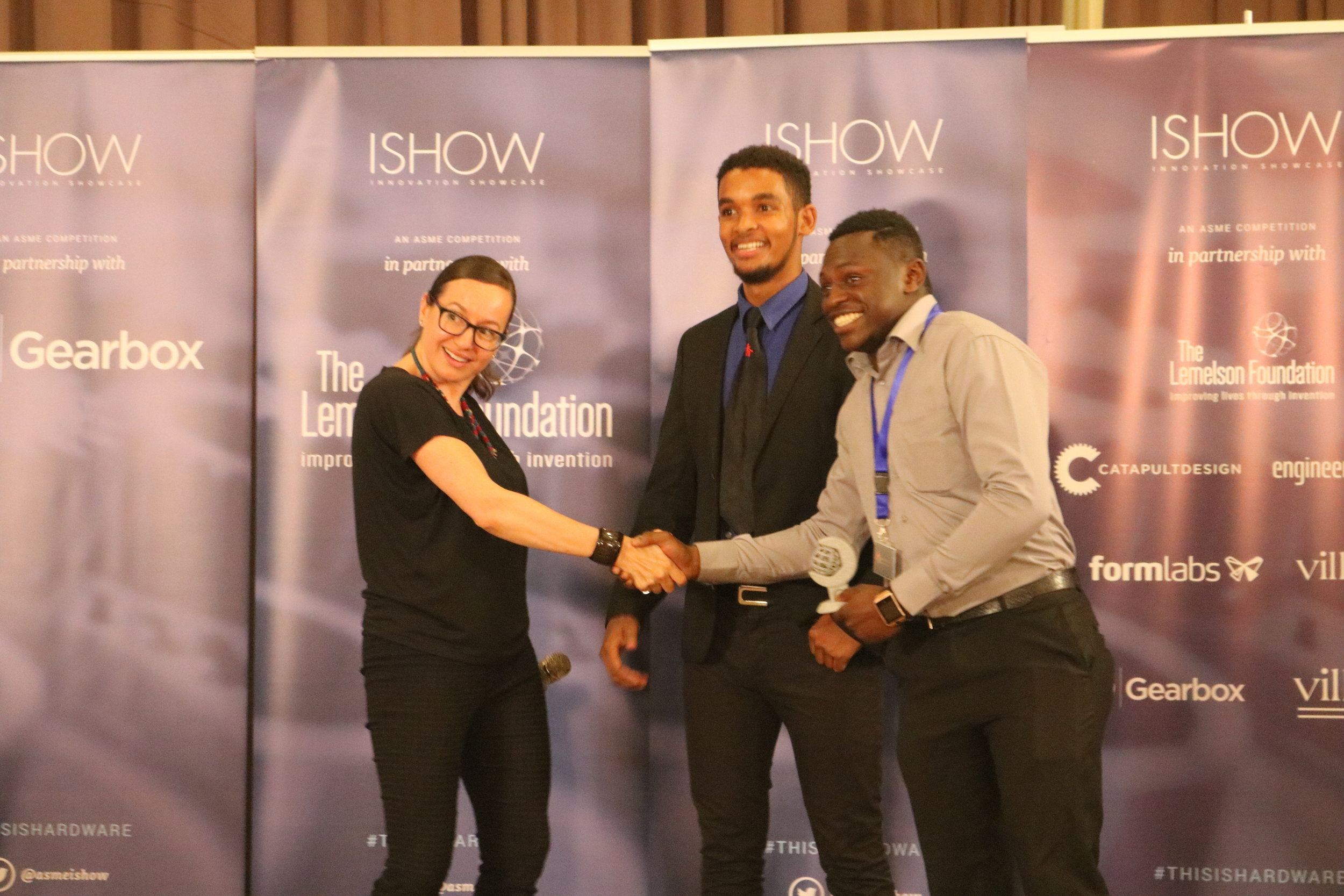 Bentos Energy win Ishow 2018