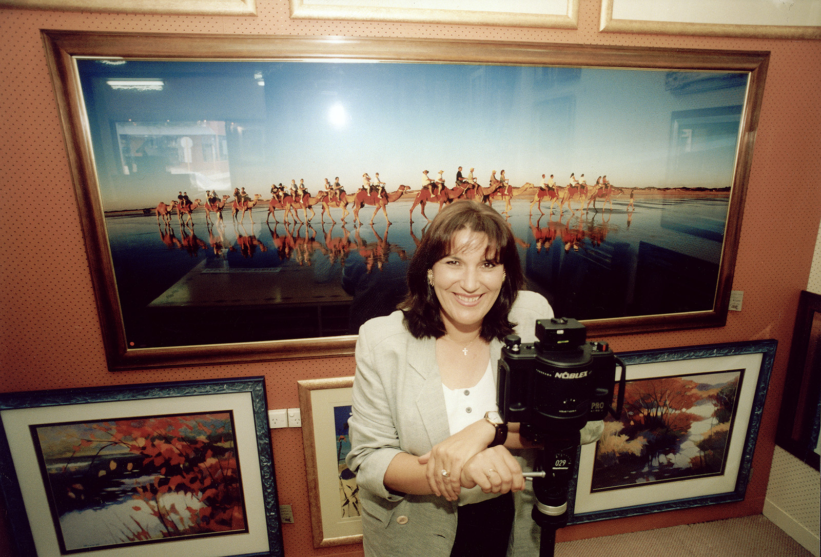 Berenice Carter. Founder of Auscapes Images