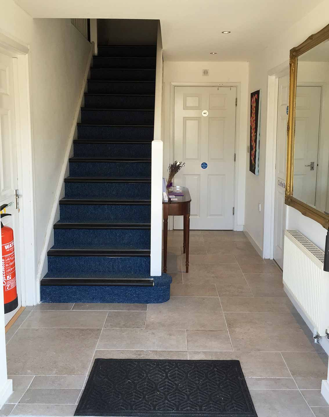 Hartland Stud Offices Entrance