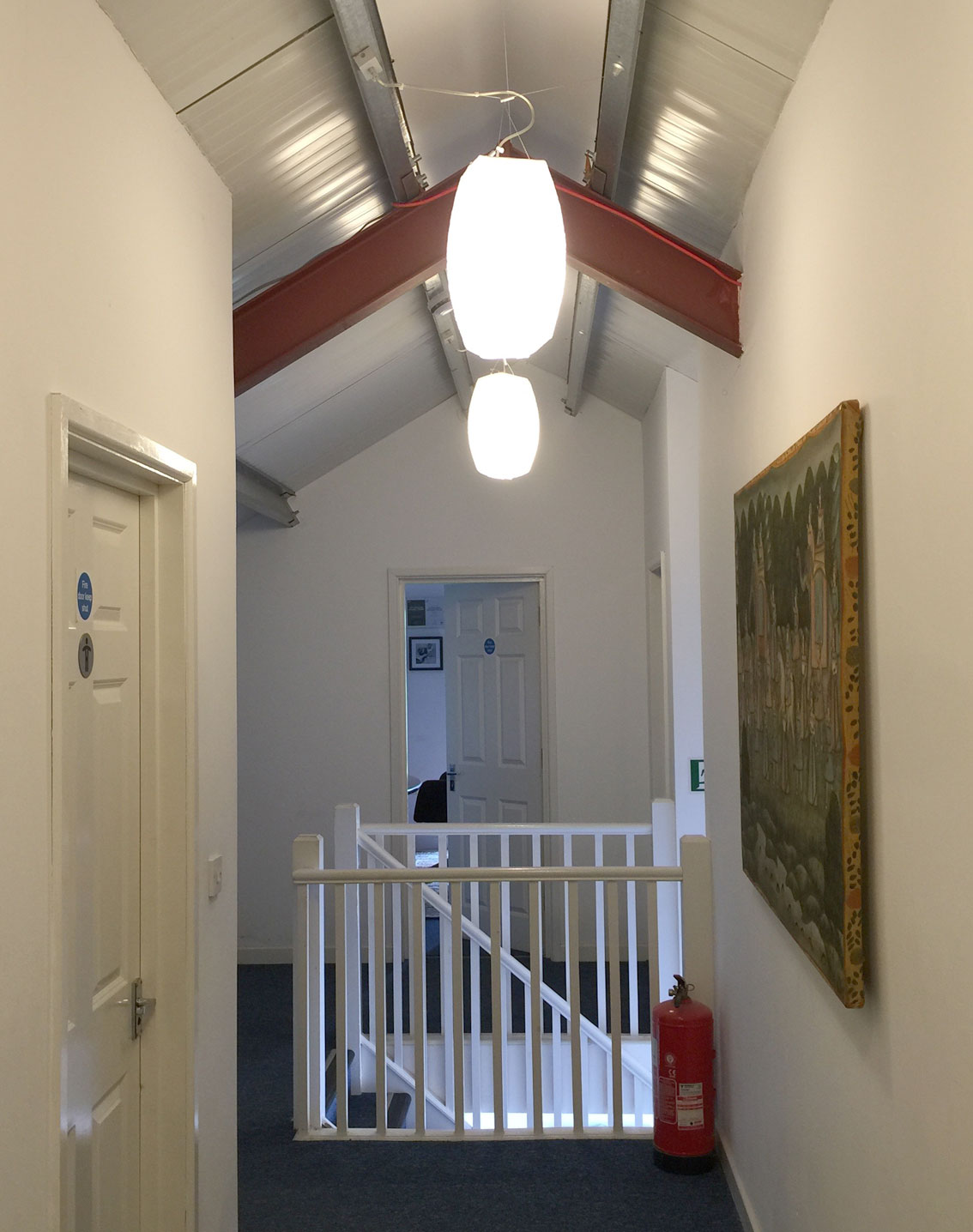 Hartland Stud Offices corridor