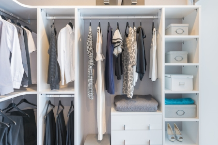Home Organizing rooms and closets