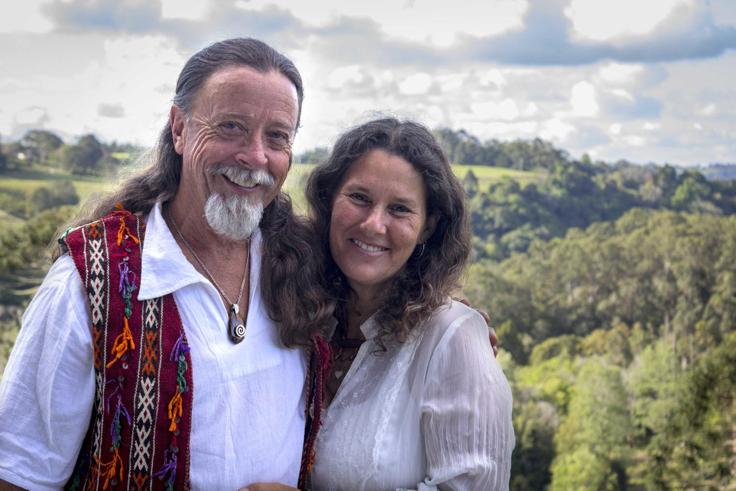 Rob Clark and partner Robin Clayfield
