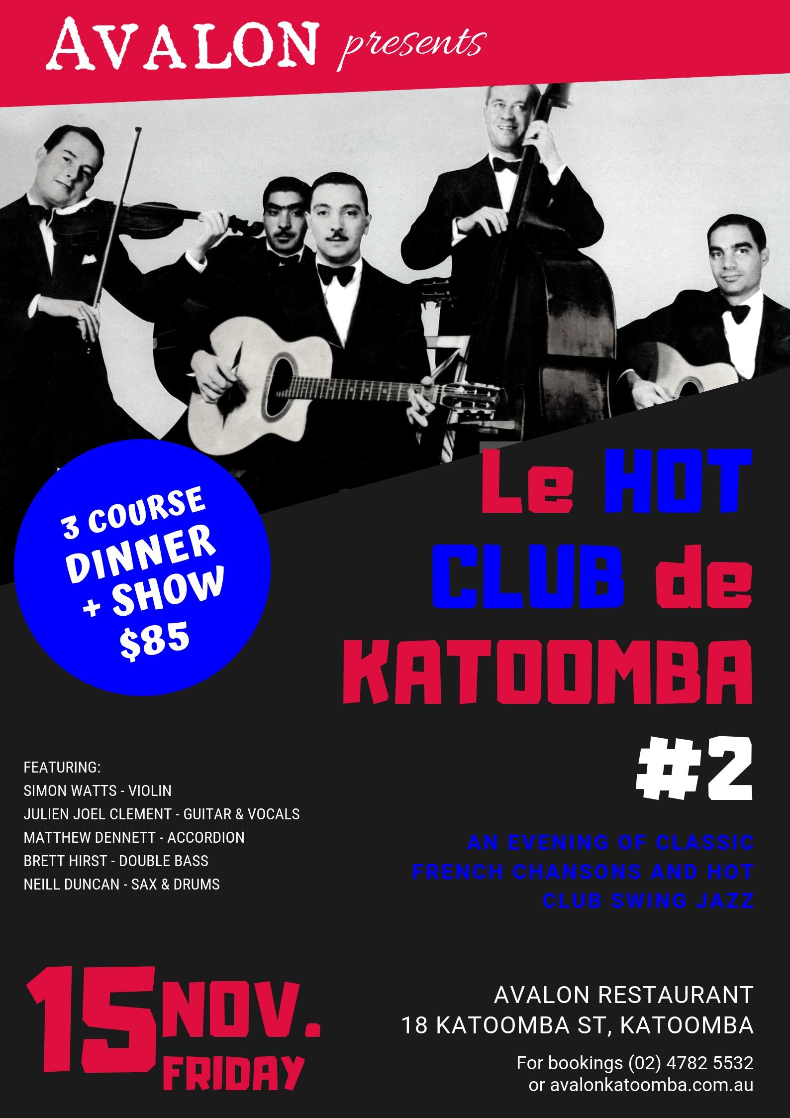 Le Hot Club de Katoomba