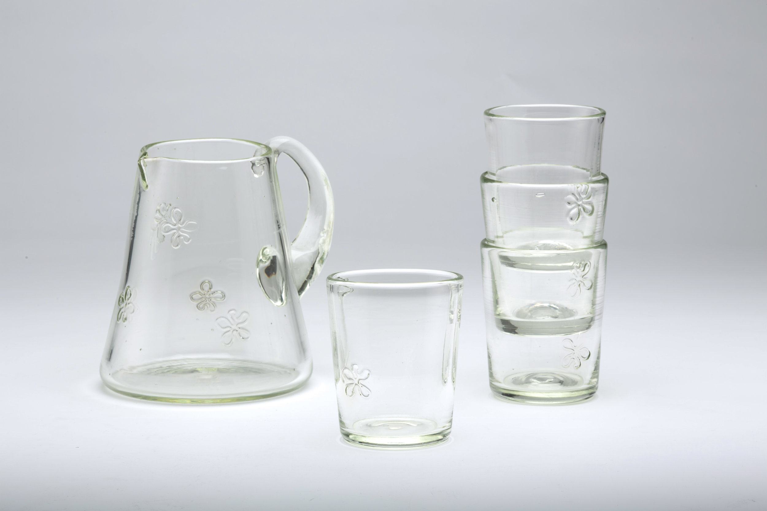 Flower Jug and Cups Set, 2012