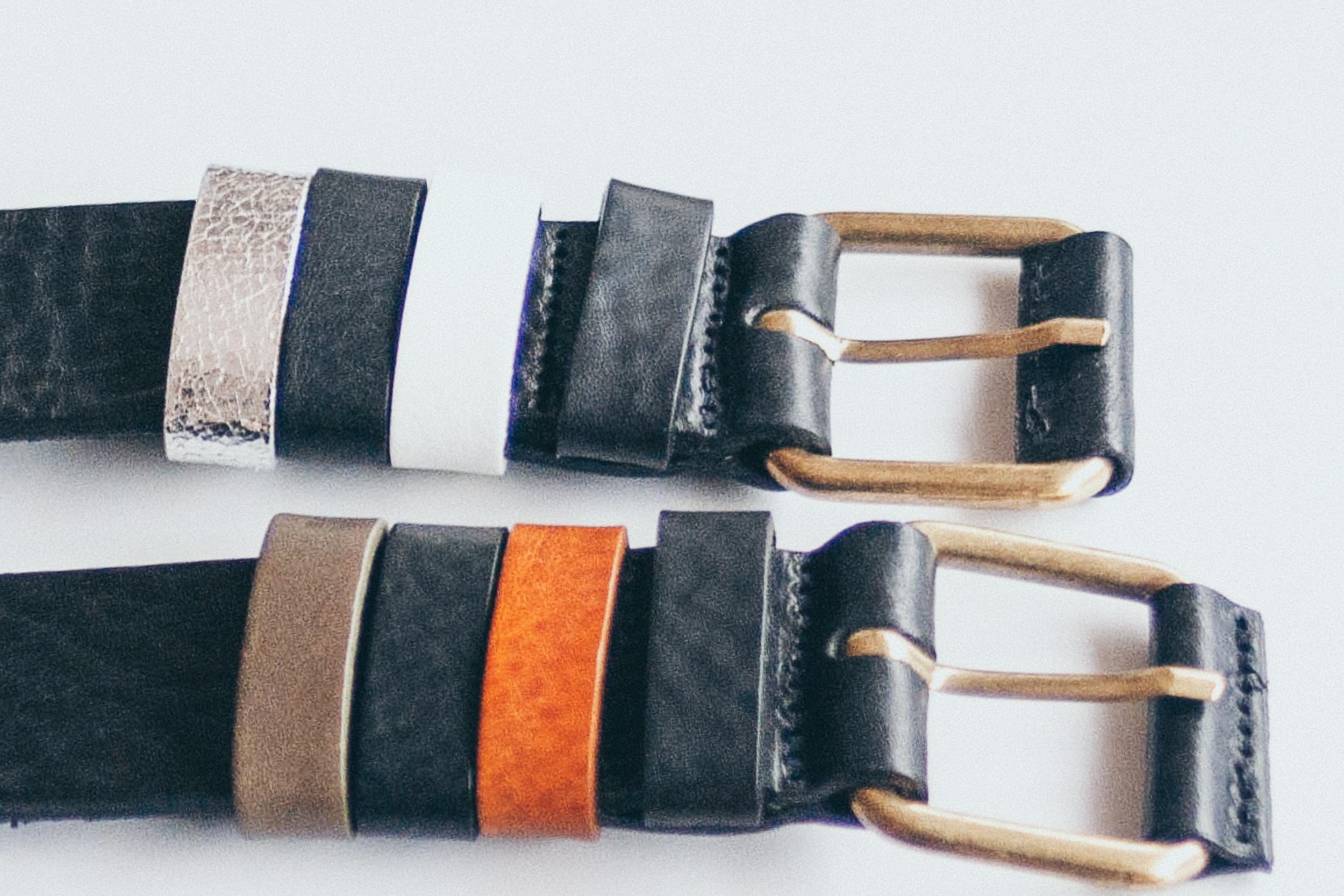 Same belt, different straps