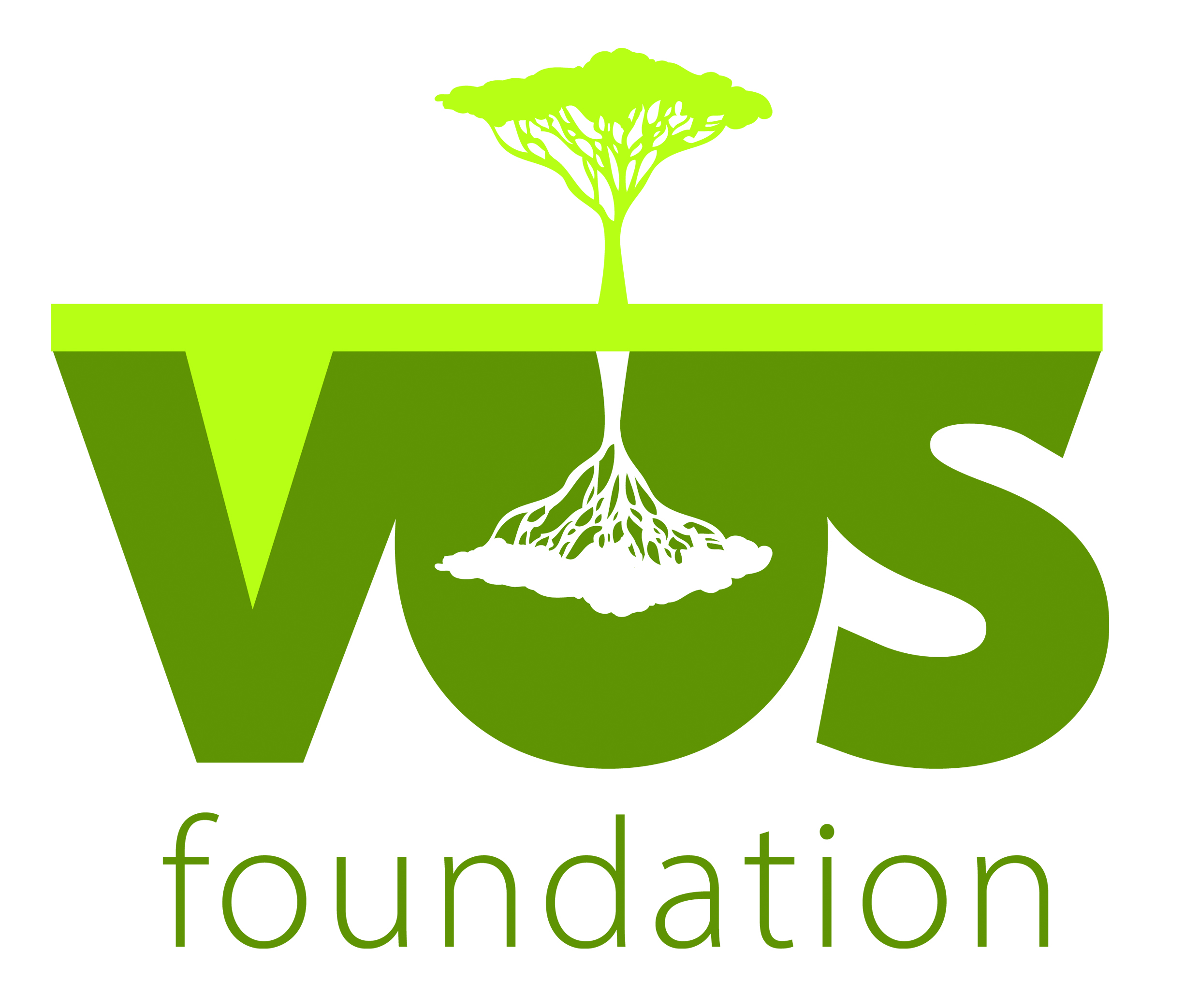 A logo commission for Vos foundation charity.