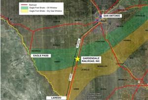 Gardendale Rail Map