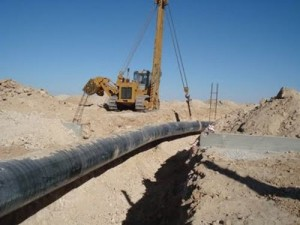 Gas Pipeline Arid