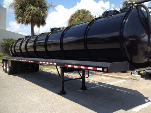 Tanker on Display at STX EF Expo