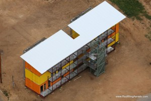 Eagle Ford Shipping Container Apartments