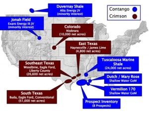 Contango Oil - Crimson Exploration Combined Assets