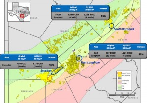 Marathon Oil Eagle Ford Acreage Map & Improving Well Performance