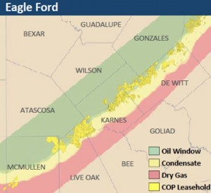 ConocoPhillips Eagle Ford Map