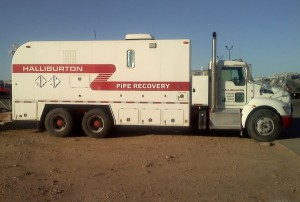 Halliburton Operated Wireline Truck