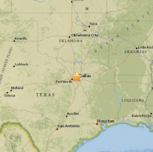 Four Earthquakes Rattle Irving