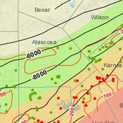 Atascosa County Eagle Ford Shale Map