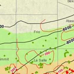 Frio County Eagle Ford Shale Map