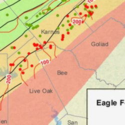 Bee County Eagle Ford Shale Map