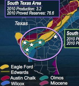 Swift Energy Eagle Ford Shale Acreage Map