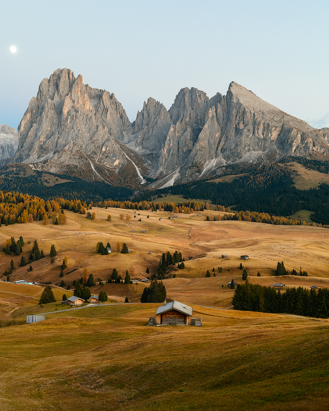 Edited version of the image from Alpe di Siusi
