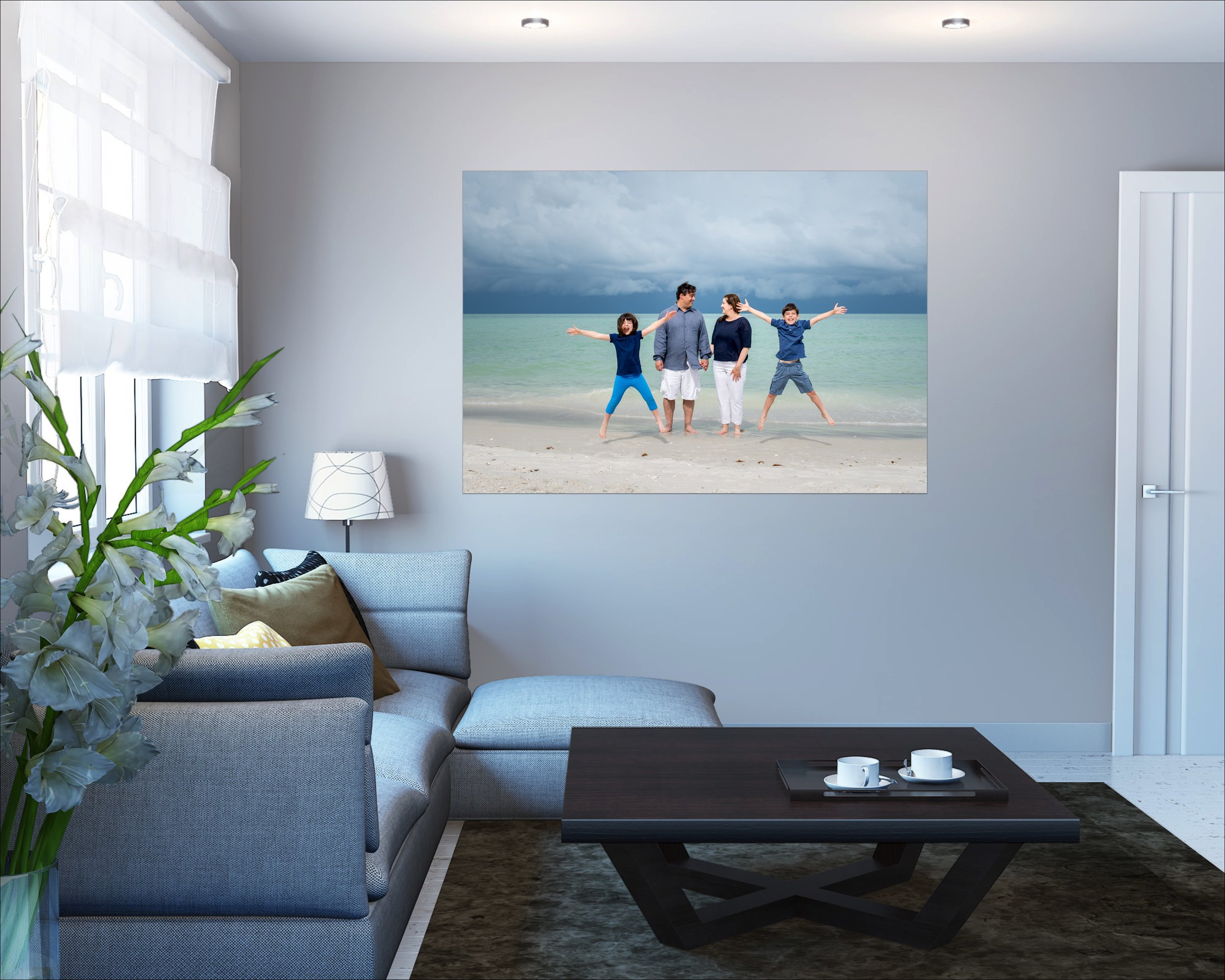 Canvas Collections - Our custom designed canvas collections are archival quality. Multiple sizes available and custom as well to perfectly fit your space.