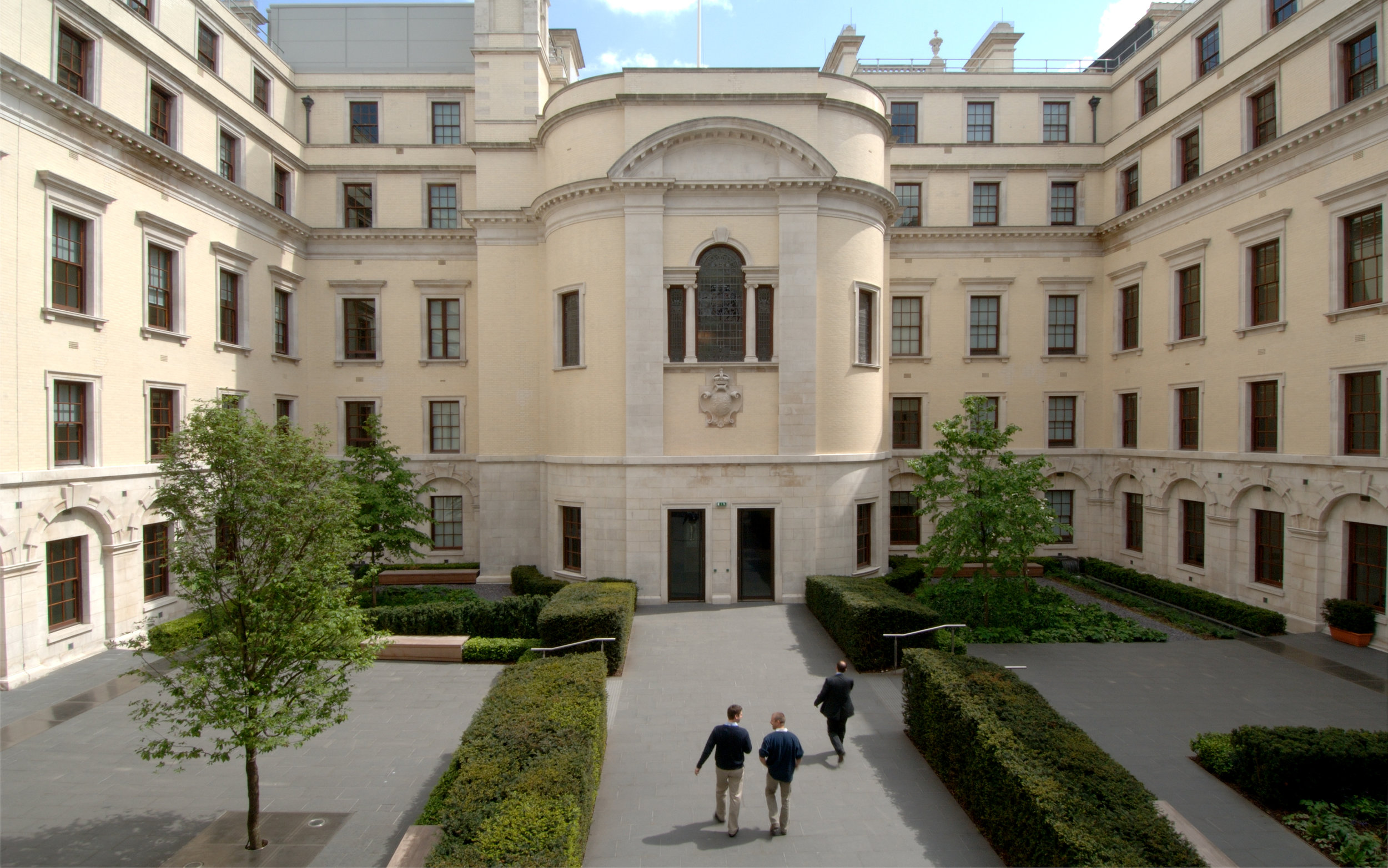 East Courtyard