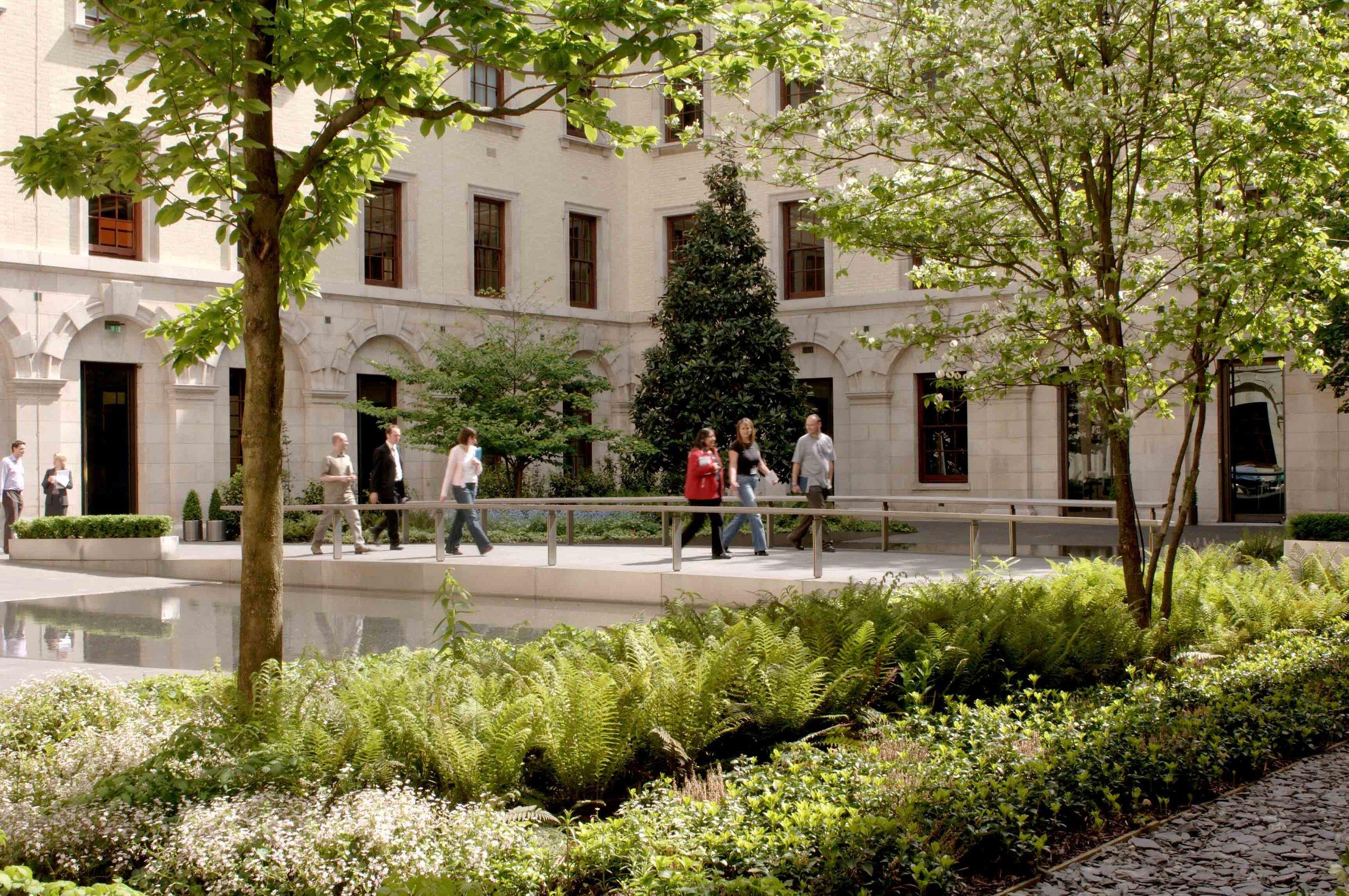 HM Treasury Courtyards 2002-2004