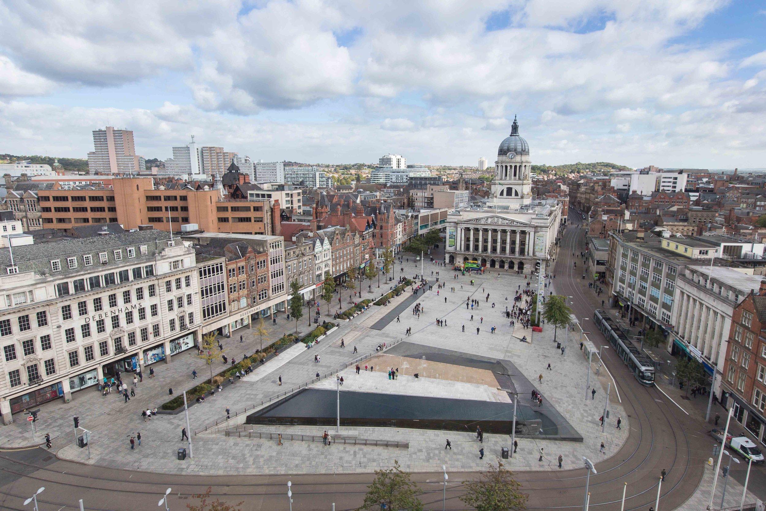Old Market Square 2005-2007