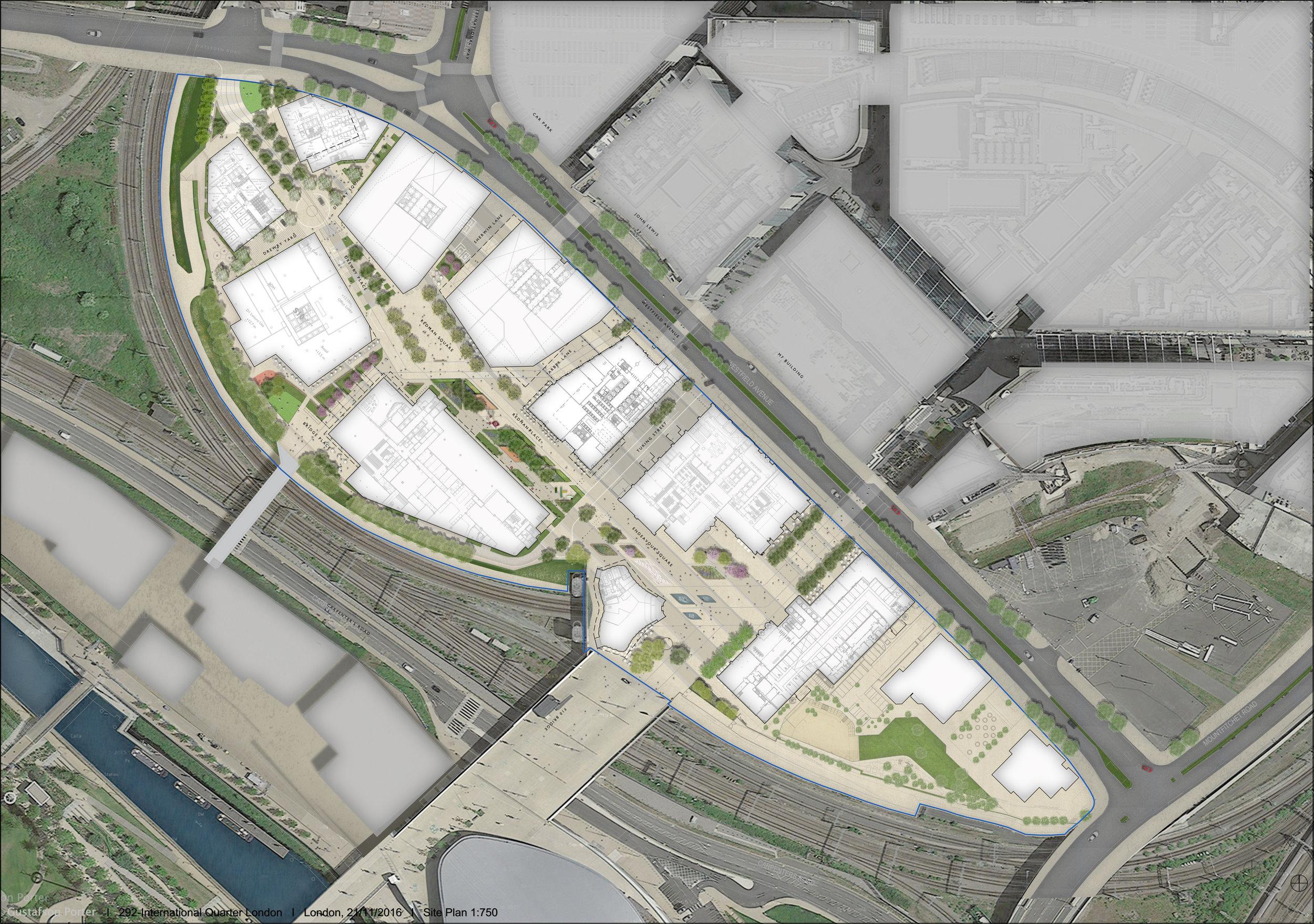 Masterplan of proposed development