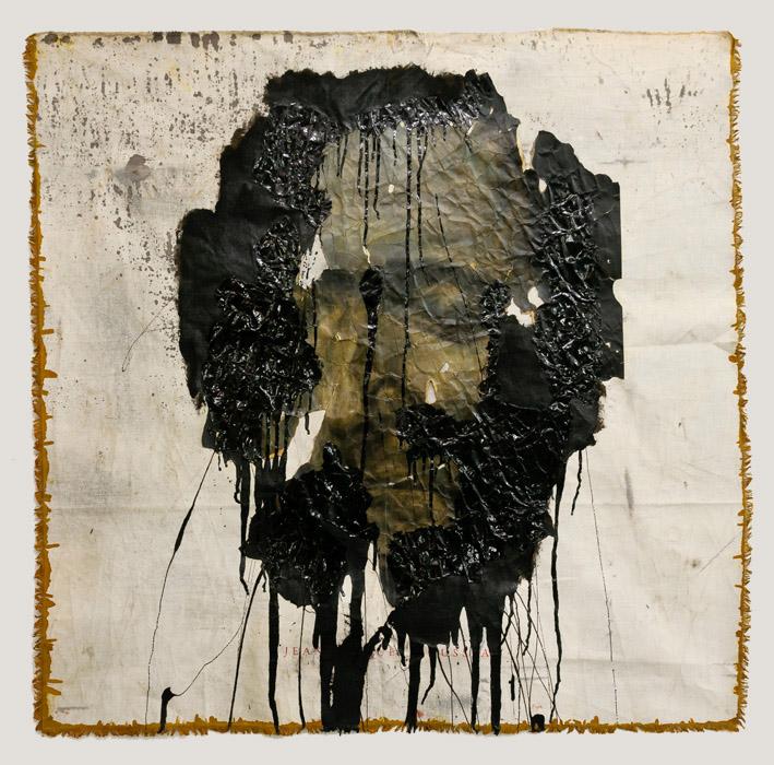 Culte des grands hommes (Rousseau) Triptych, 2012 120 x 120 cm