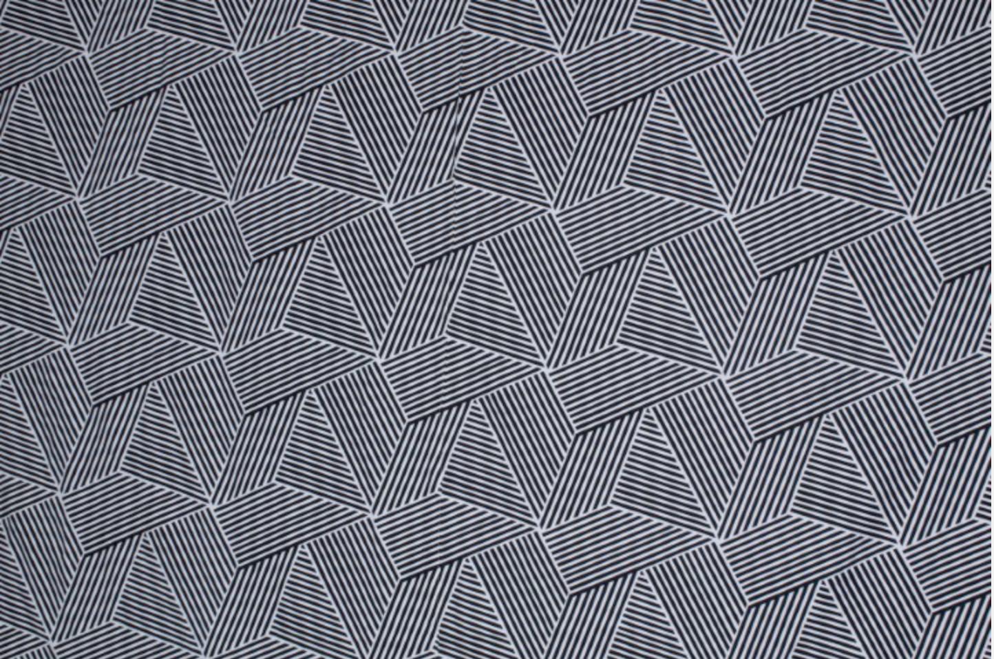 Black + White Stripes -